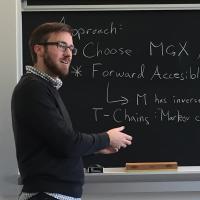 Seminar Talk Photo